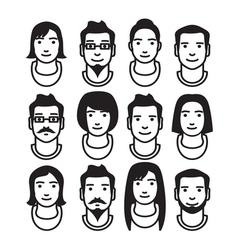 Avatar VARIATIONS2 vector image