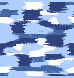 Military camouflage pattern water blue vector