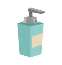 Soap dispenser icon vector