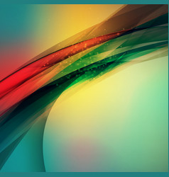 abstract colorful background wave blurred soft vector image vector image