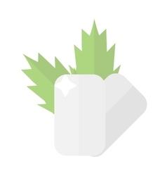 Dental care symbols vector