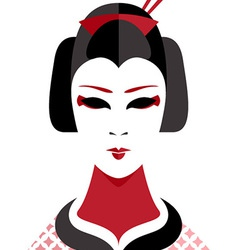 Geisha vector