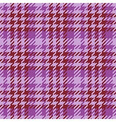 Seamless purple gingham comprised by threads vector