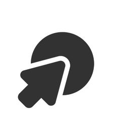 go to web icon vector image