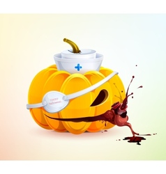 Doc pumpkins vector