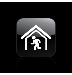 Escape icon vector