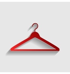 Hanger sign vector