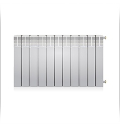 Gray radiator vector