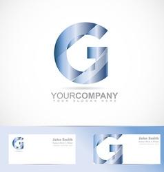 Letter G logo vector image vector image