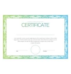 Modern certificate and diplomas template vector