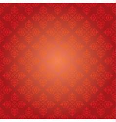 Red vintage pattern - background vector