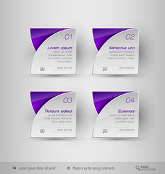 Business infographics template design elements vector