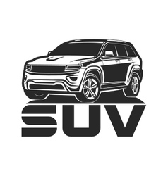Suv car icon logo design vector