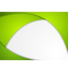 Abstract modern corporate wavy background vector