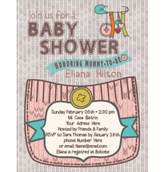Baby-shower woolsoftcolors vector