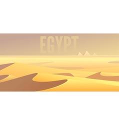 Egyptian pyramids vector