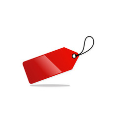 label hang tag discount logo vector image