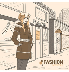 Fashion style03 vector