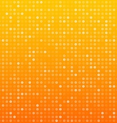 Circles orange technology pattern vector image