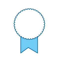 award ribbon isolated vector image vector image