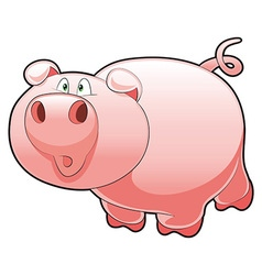 Baby Pig vector image