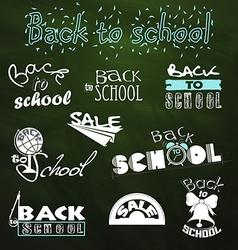 Back to school 5 vector