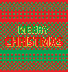 Christmas card abstract vector