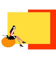 funky halloween vector image vector image