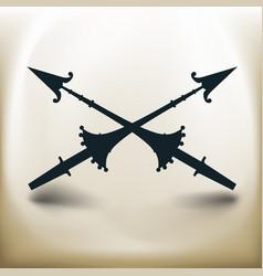 Simple spear vector