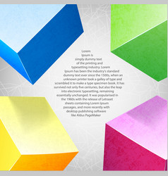 Abstract background colored composition vector