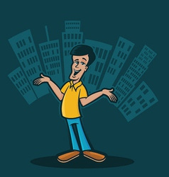 City Man vector image vector image