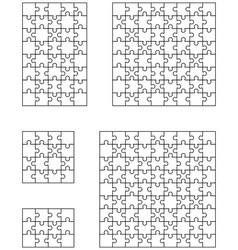 pet puzlidd vector image vector image