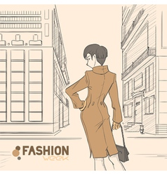 Fashion style04 vector