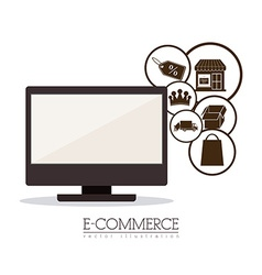 E-commerce design vector