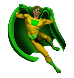 amazing superhero vector image