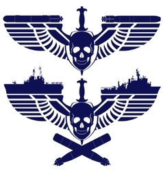 Icons of the navy vector