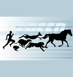 speed vector image