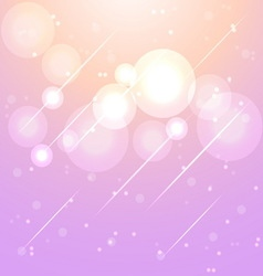 Star lights in aura sky abstract background vector