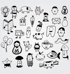creatures vector image