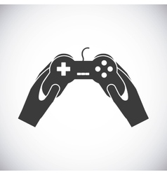 Game control icon video game design vector