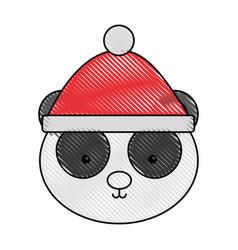 animal panda cartoon vector image vector image