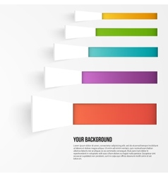 background squares Set web design vector image vector image