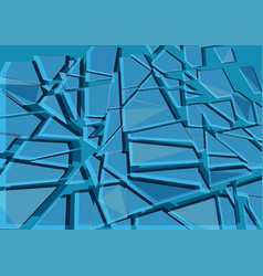 background with cracks vector image vector image