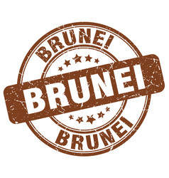 Brunei stamp vector