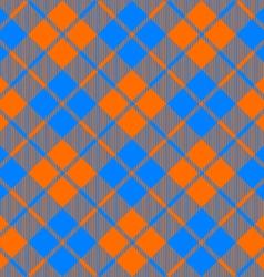 fabric texture diagonal pattern seamless orange vector image