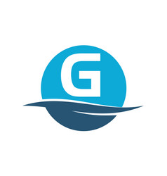 Wave water initial g vector