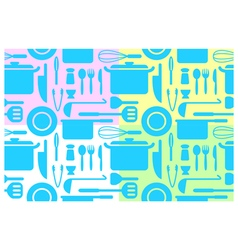 Kitchen wallpapers vector