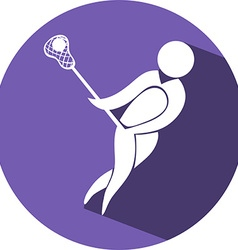 Sport icon design for cricket vector