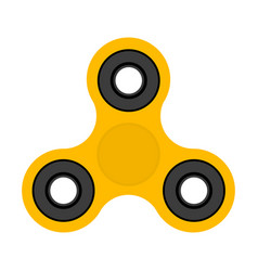 spinner toy for stress removal flat design vector image vector image