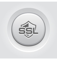 Ssl protection icon flat design vector